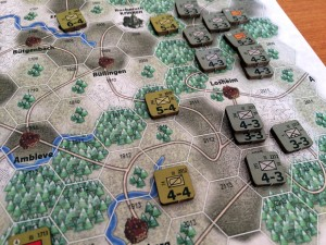 6th Panzer Army game close-up