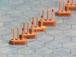 Admirals Order ships