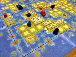 Amerigo Game - Board