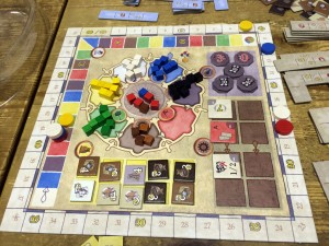 Amerigo Game - Side Board
