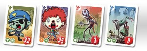 City of Zombies cards