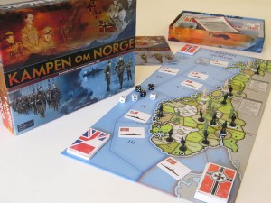 Kampen on Norge game