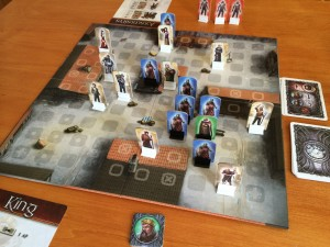 King and Assassins game