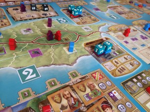Madeira game close-up