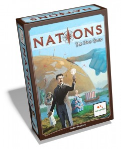 Nations Dice Game box