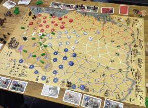 Race to the Rhine - 3-player game