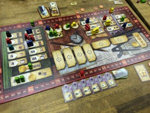 Russian Railroads - Main Board