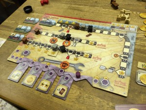 Russian Railroads - Player Board