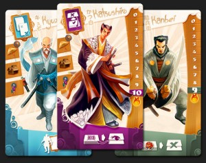Samurai Spirit cards players