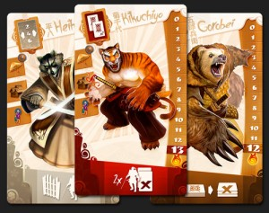 Samurai Spirit cards players animals