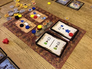 Spyrium game board