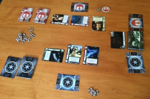 Star Wars Empire vs Rebellion game