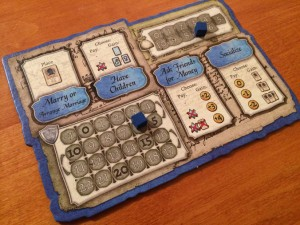 The Legacy - Game player board