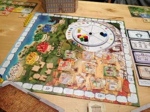 The Palaces of Carrara - Game