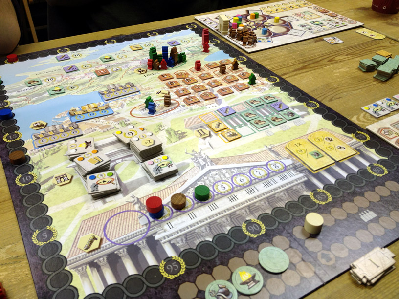 Image result for trajan board game