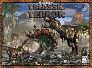 Triassic terror cover